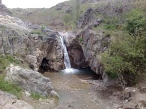 همون روز دره باراجین - جاده بهرام آباد - نمای تصویر رو به شمال شرق