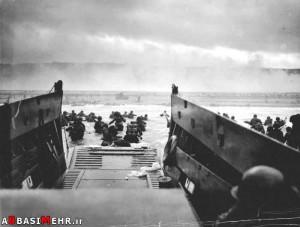 ساحل اوماها و نبرد متفقین با آلمان ها - 6 ژوئن 1944