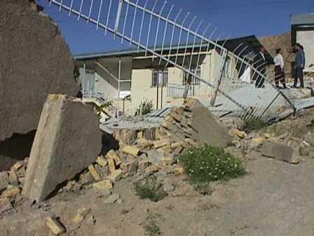 خرابی های ناشی از زلزله مخرب آوج - چنگوره