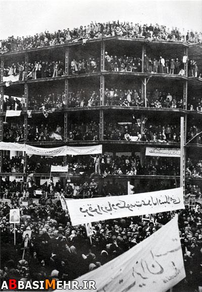 راهپیمایی پرشکوه مردم تهران بعد از فرار شاه