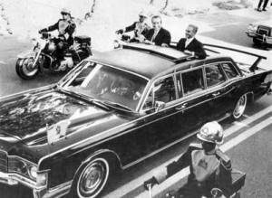 ورود نیکسون به تهران