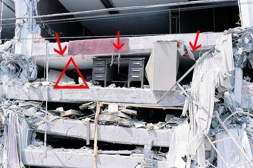 همیشه آموزش های (هرچند ساده) مانورهای زلزله را جدی بگیرید.