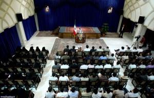 دیدار اعضای دفتر تحکیم وحدت با رئیس جمهور