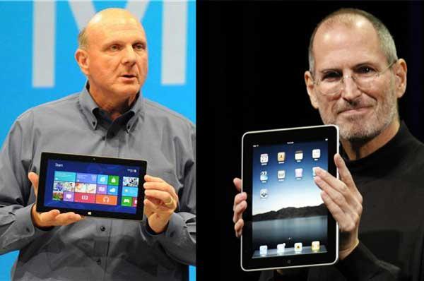 تفاوت اپل با ماکروسافت از زبان ارایه دهندگان