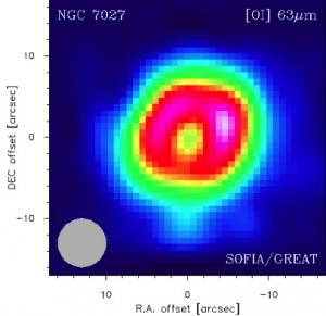 طیف نگاری از نبولای NGC 7072